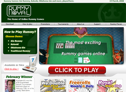 royal rummy online